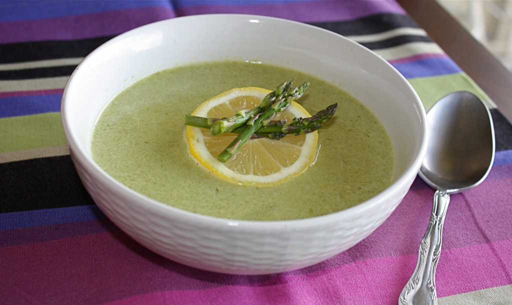 Cream Of Asparagus Soup (Crème D'asperges) Recipe — Dishmaps